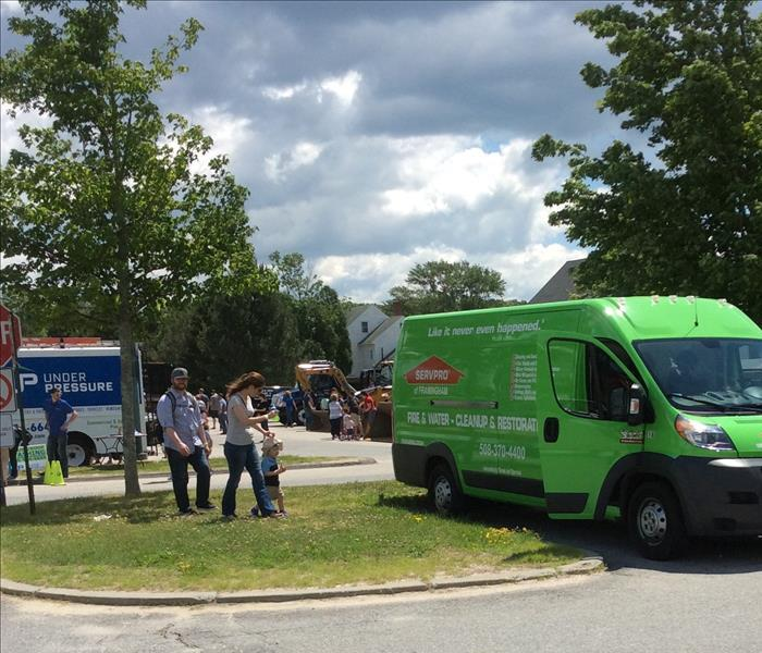 Hopkinton Public Library Touch A Truck 2016