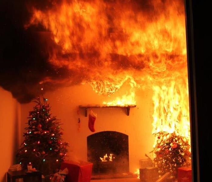 Fire Damage Christmas Trees Must Be Hydrated